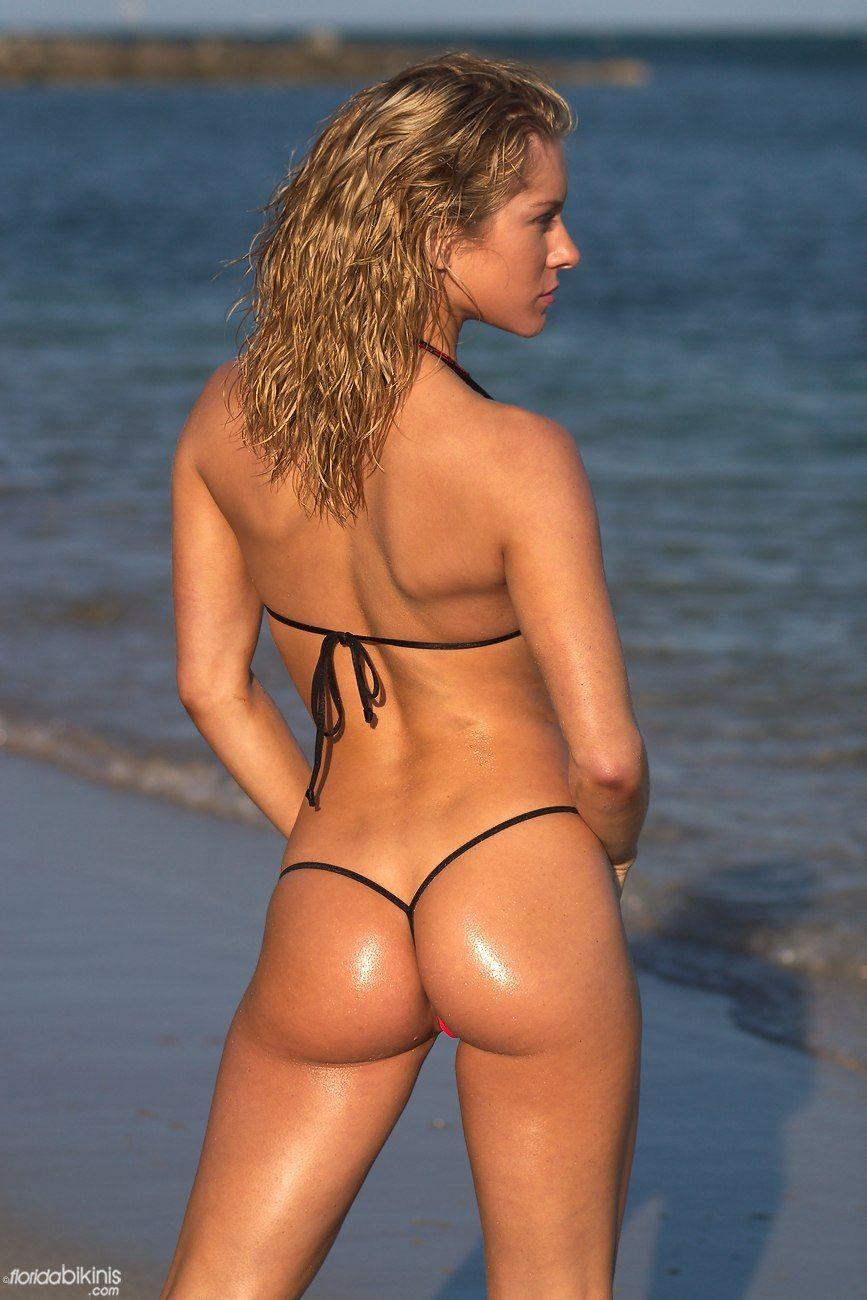 Beach micro thong bikini