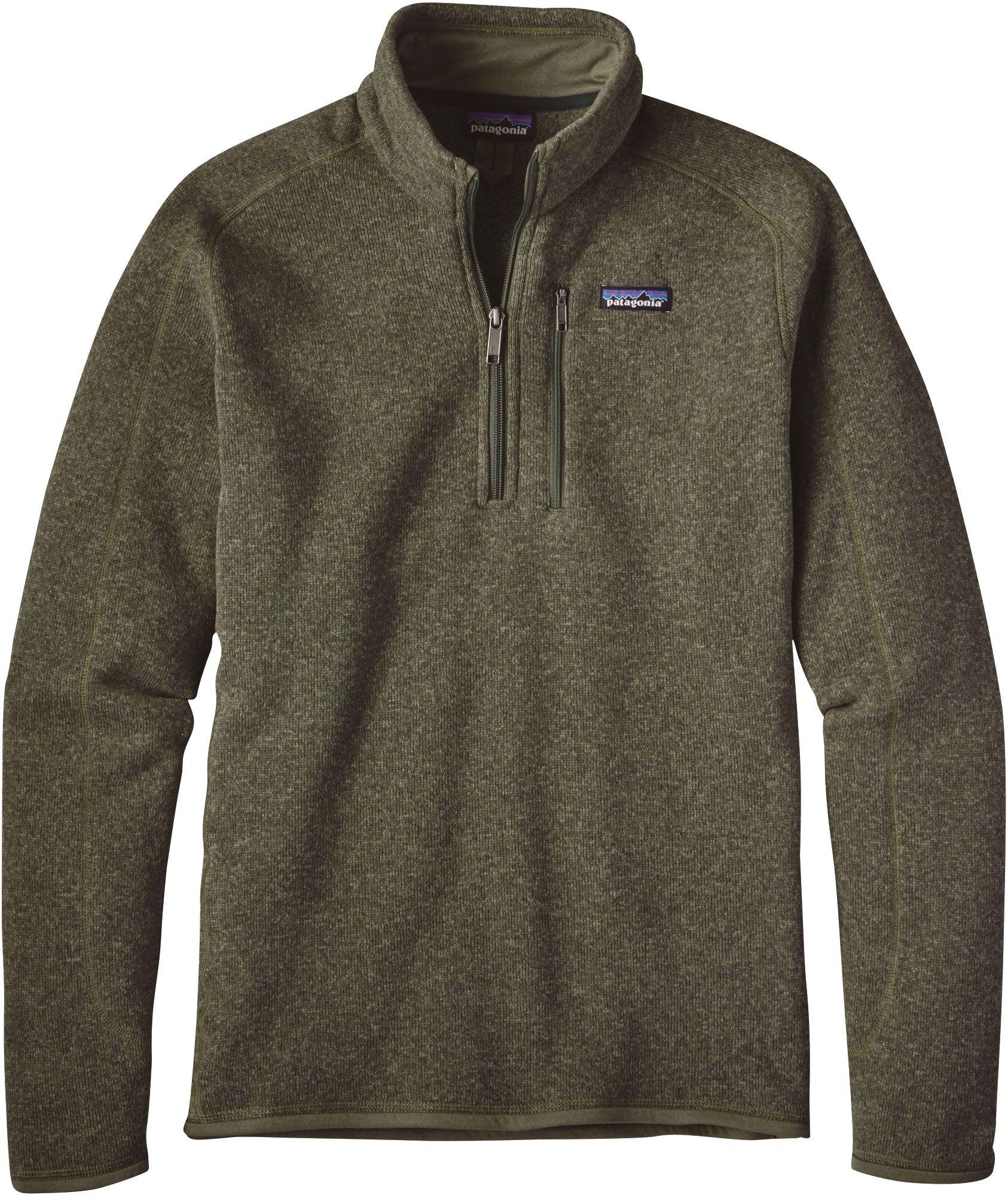 cb32bbfbca Patagonia Men s Better Sweater 1 4 Zip Fleece Pullover
