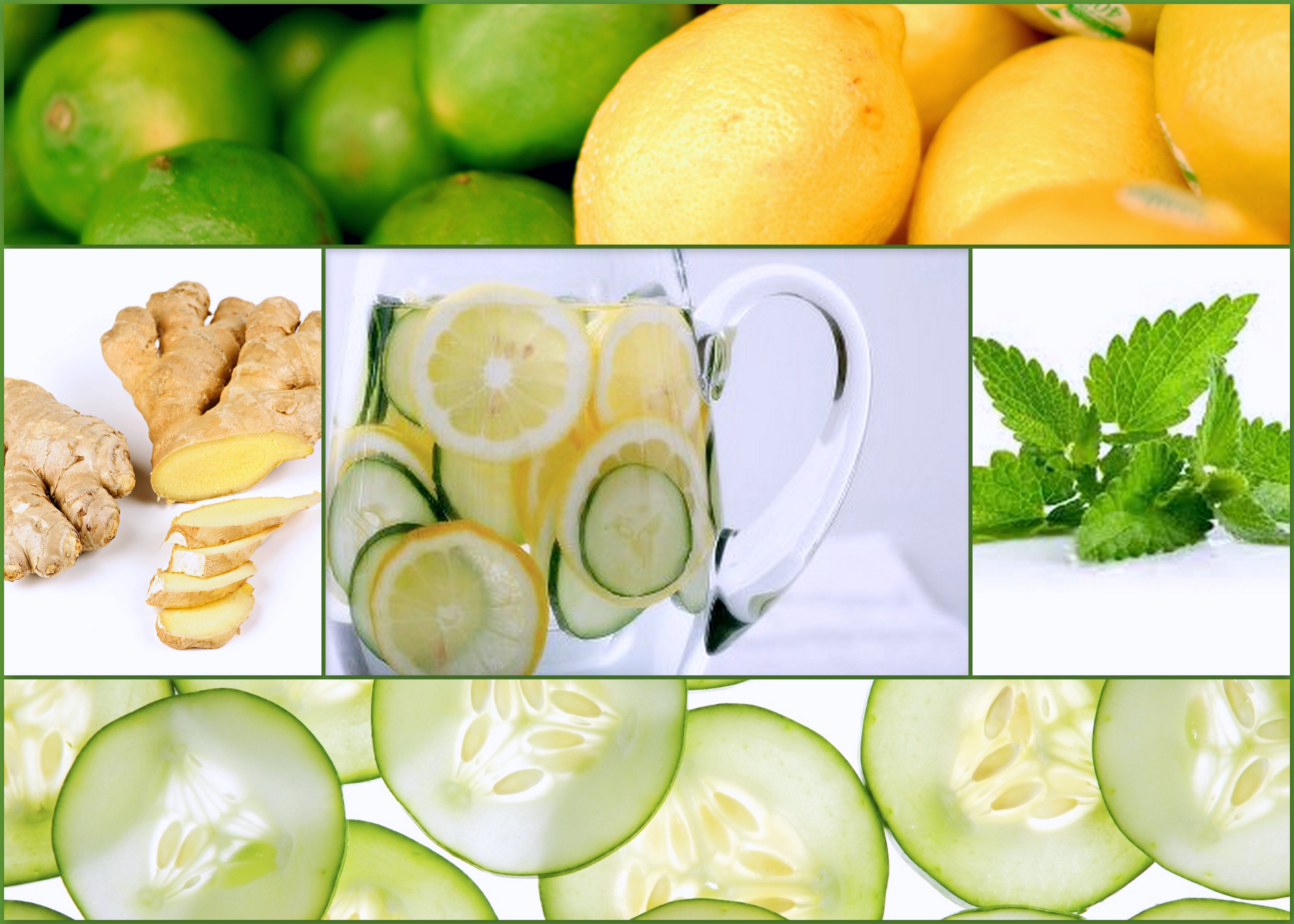 Огуречно лимонная диета