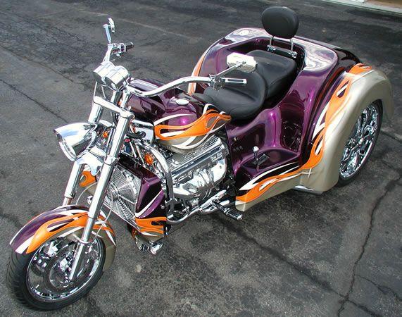 2006 Boss Hoss Willys Trike !