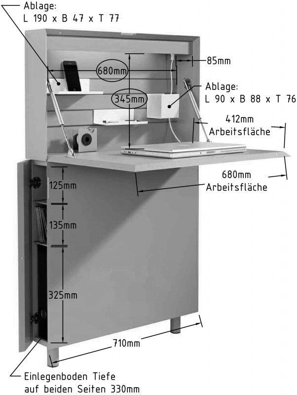flatmate sekret r m bel mehr by schiffer sams pinterest m bel schreibtisch und buero. Black Bedroom Furniture Sets. Home Design Ideas