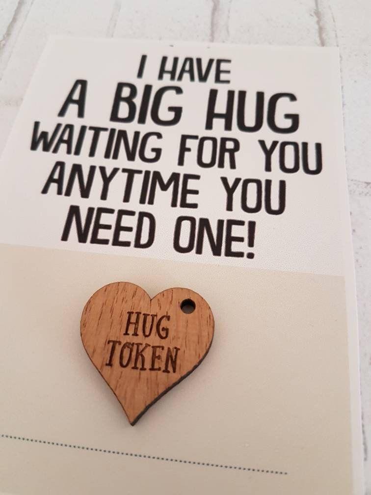 HUG TOKEN Gift for Girlfriend Gift for Boyfriend Love