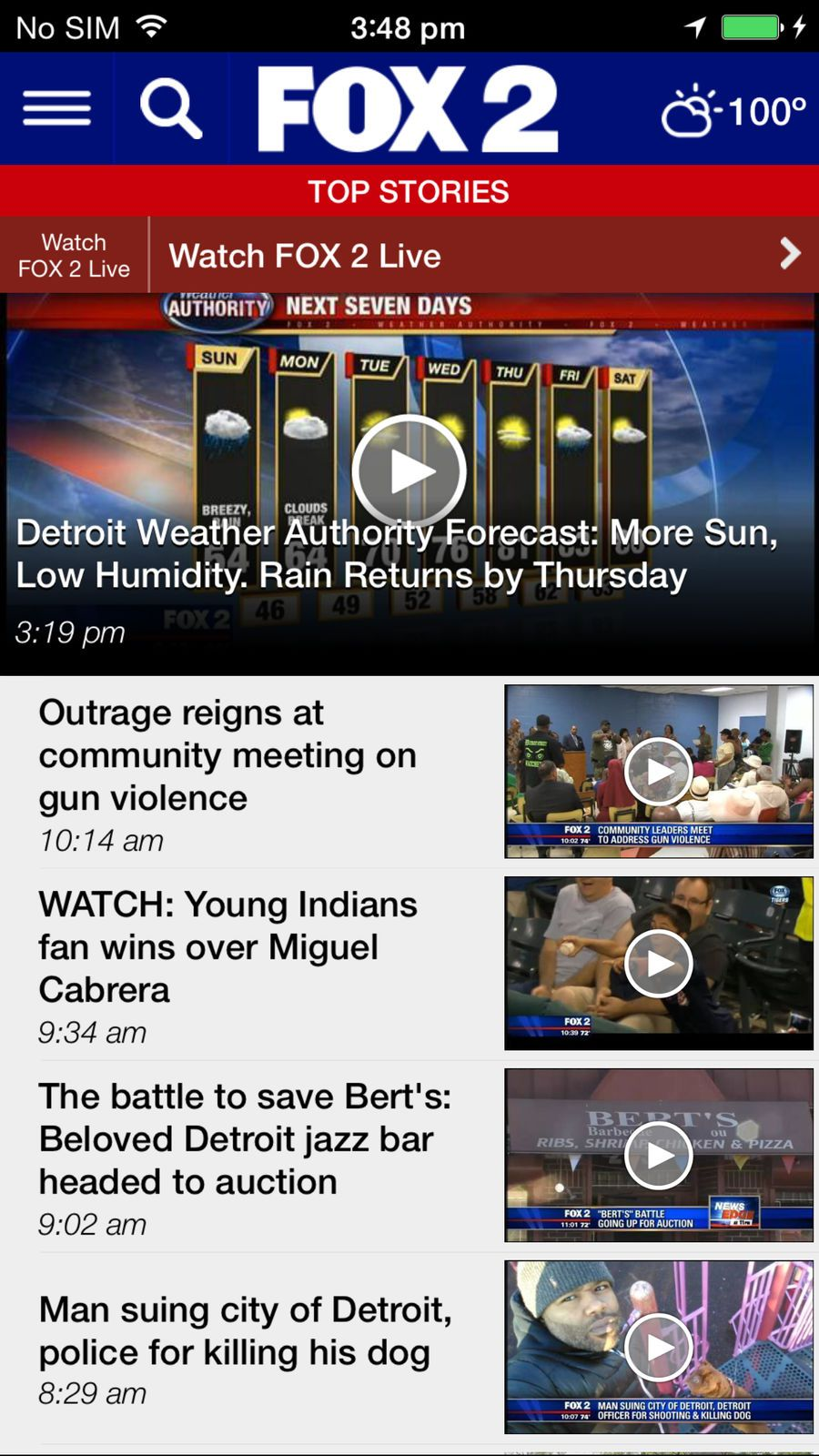 FOX 2 Detroit #Weather#News#apps#ios   iphone game   News