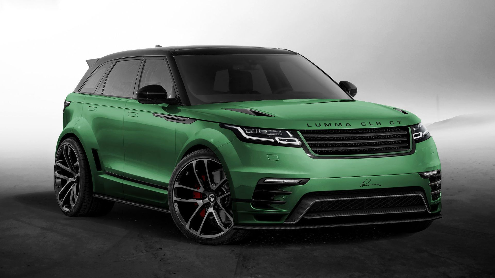 Range Rover Velar In A Wide Body Kit Soon after Range Rover Velar got launched tuning pany Lumma Design has managed to offer a digital render of a