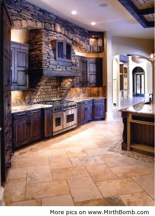 My kitchen will tie both Medieval influences with a modern ...