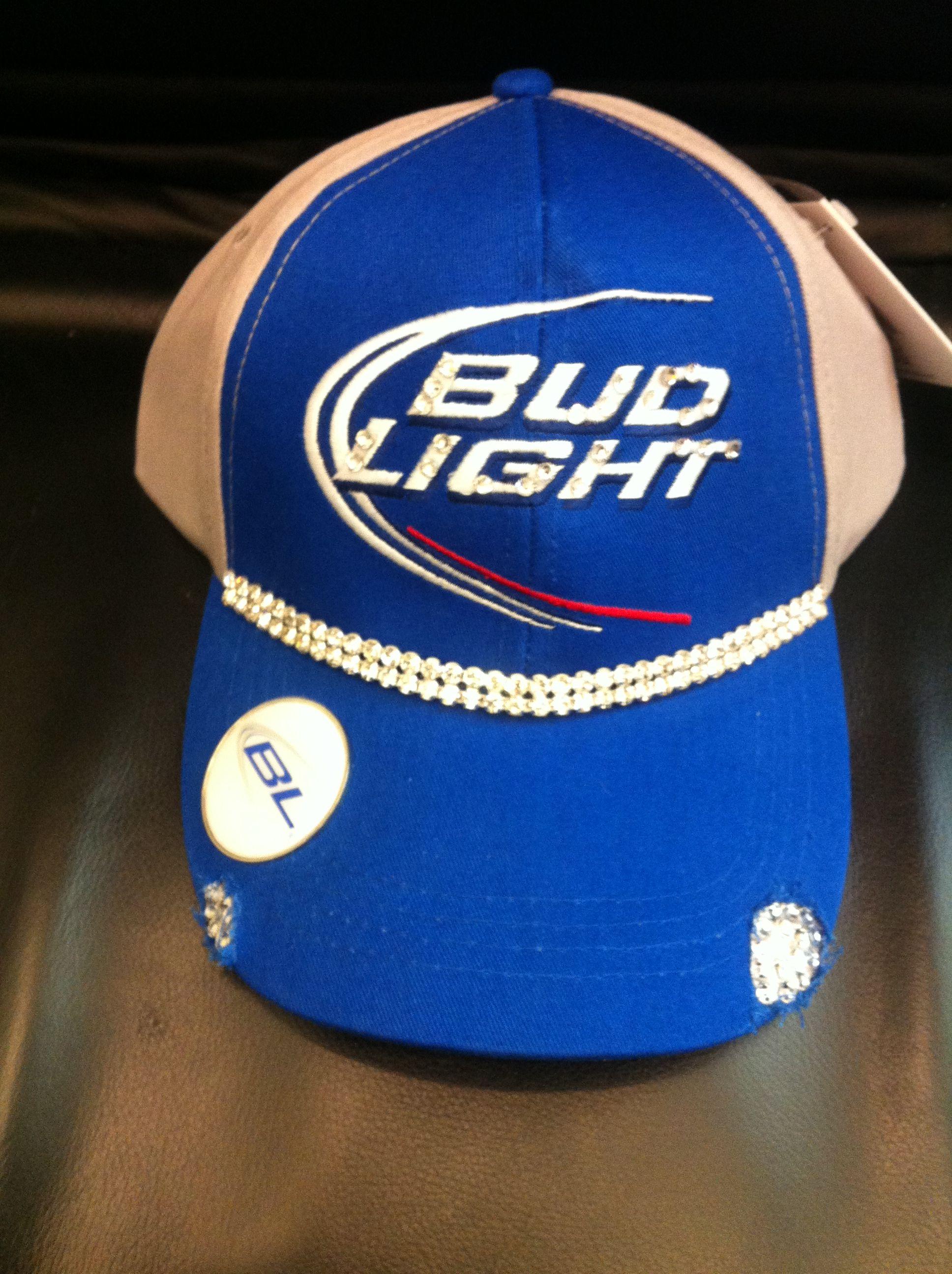 Budlight Bling Trucker Hats