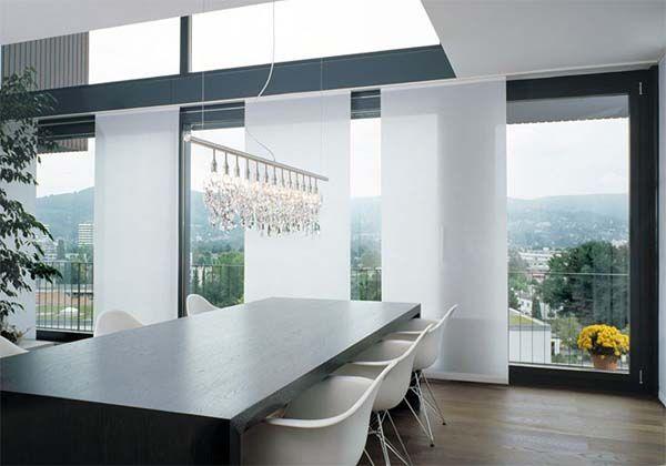 Moderne fenstervorhänge  Contemporary window treatments | Window treatments | Pinterest ...