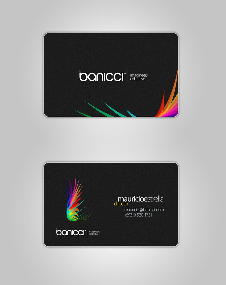 Business Cards 40 Business Cards Design For Your Inspiration