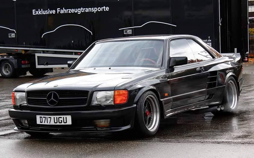 Mercedes-Benz X Gemballa C126 - 560SEC Widebody | Cars