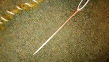 Kobber nål (8)