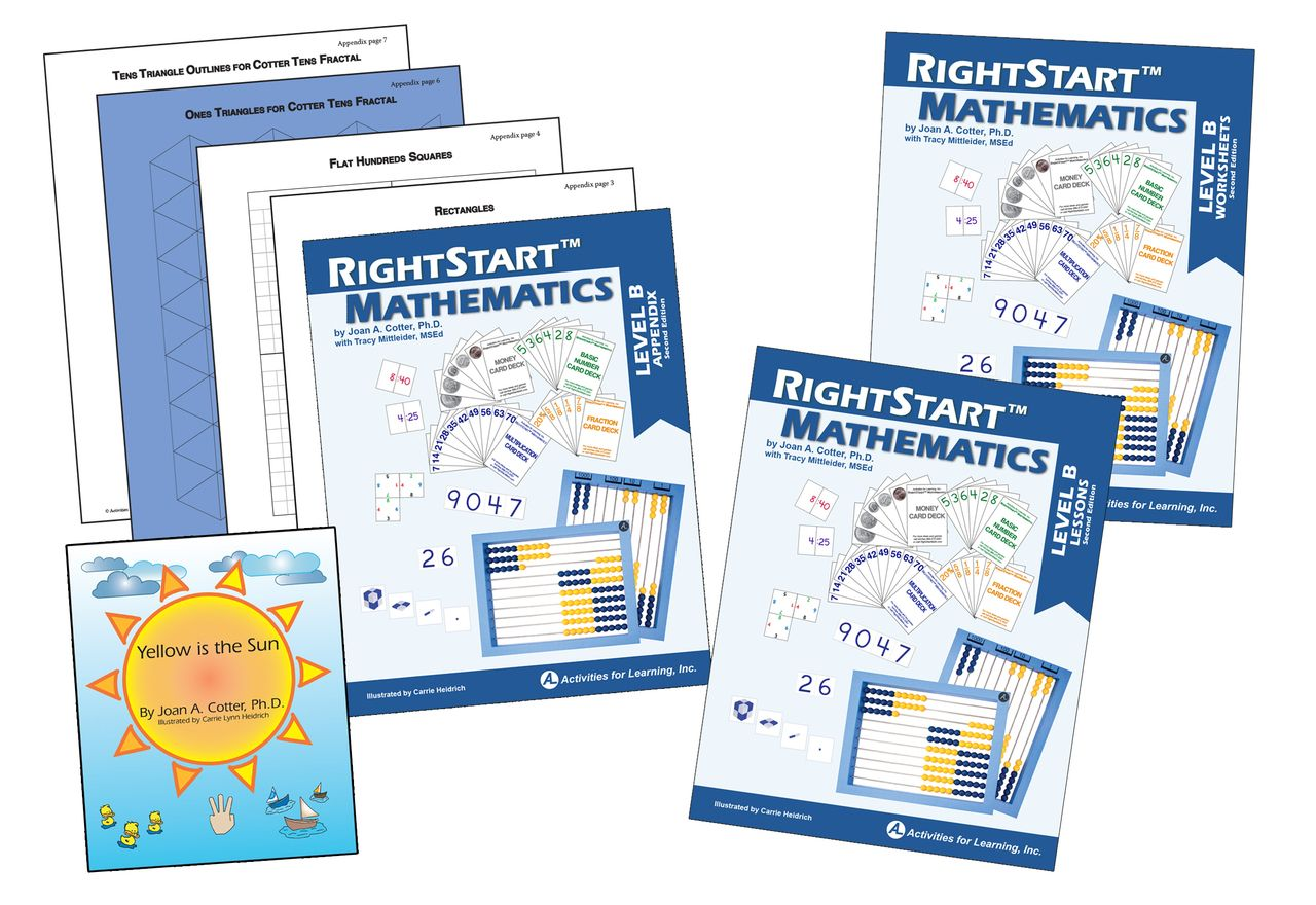 Rightstart Mathematics Level B Second Edition Book Bundle