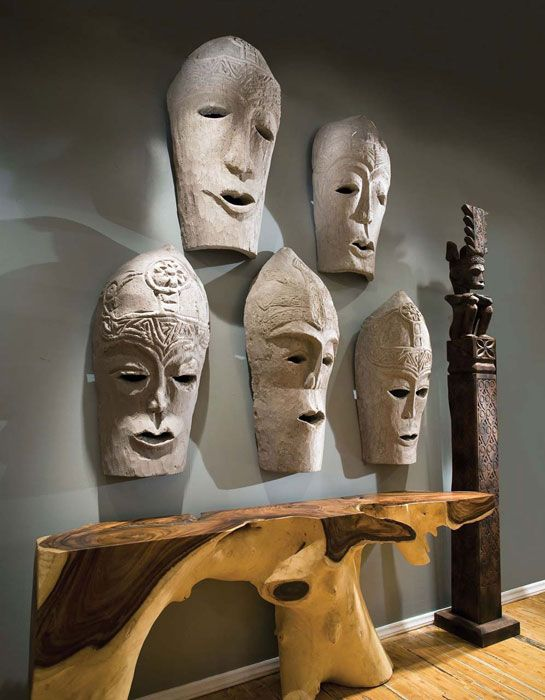 Phillips collection medan hanging masks  was able to use these on  project african masksafrican artwall art sculptureart also best images pinterest africans rh