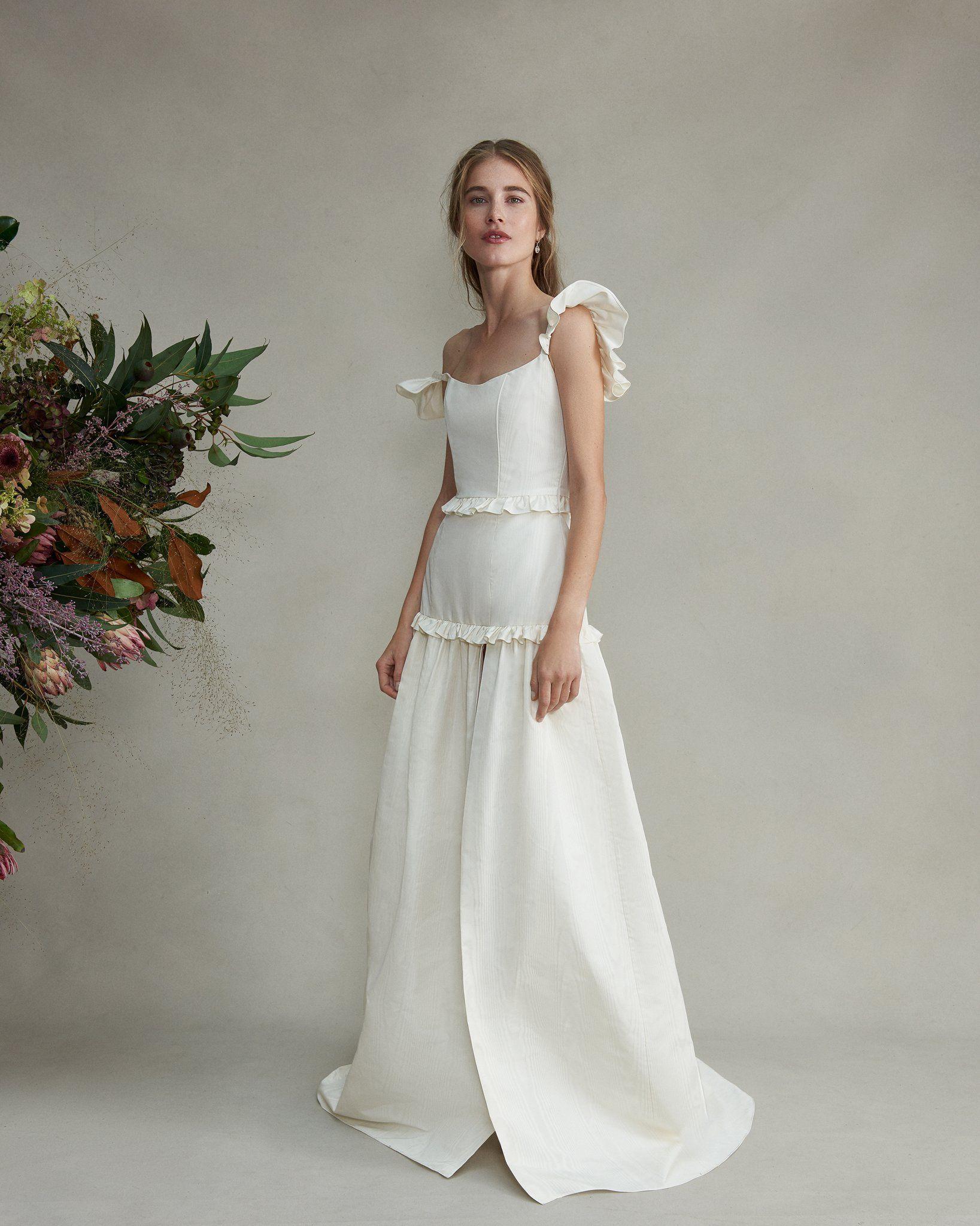 Pin by Maddie O'Malley on arizona wedding   Drop waist wedding ...