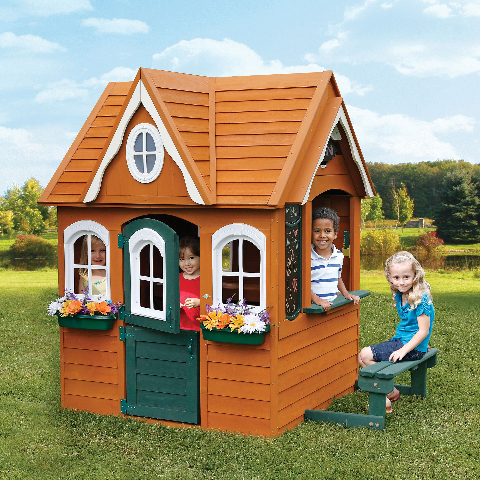 5 Amazing Playhouse Playset Makeovers