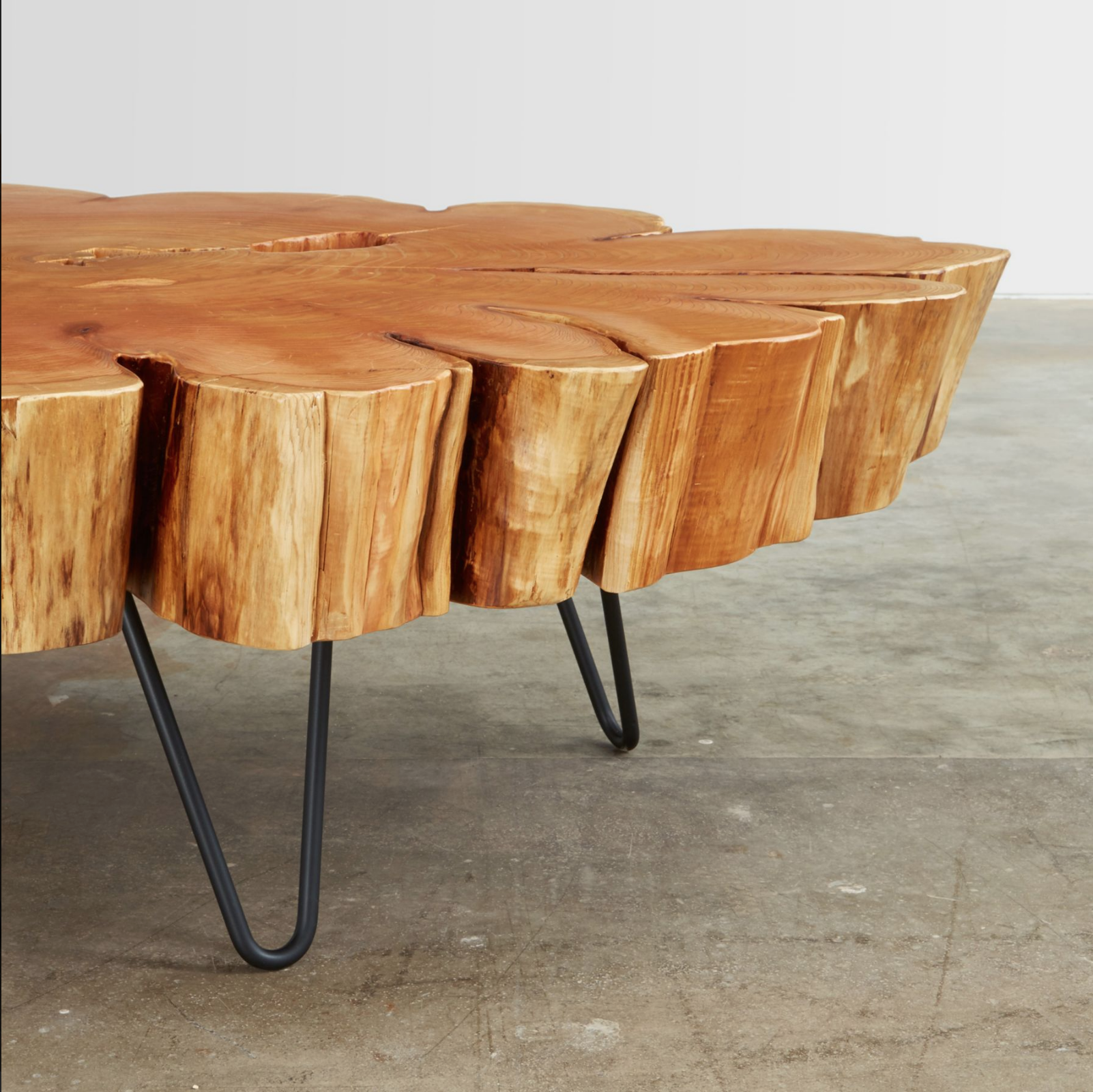 Trees are given a second life as Urban Hardwood furniture that is
