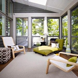 Inspirational Porch to Sunroom