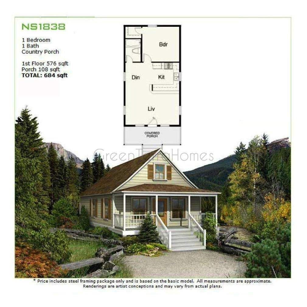 Greenterrahome Shell Cottage Package 576sf Warburton Modular Cottage Greenterrahomes Coastal Cottage
