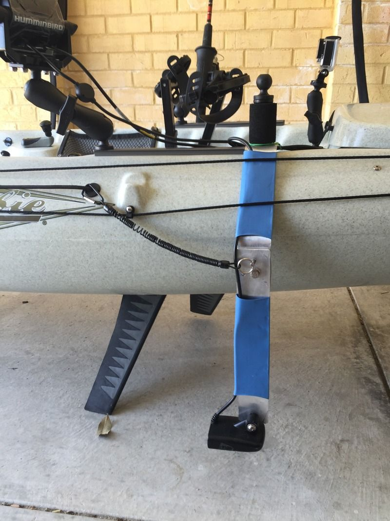 DIY Transducer / Fish Finder Mount  | Fishing | Kayak fish