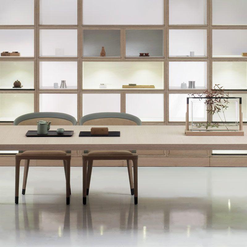 Luxury asian Style Shelves