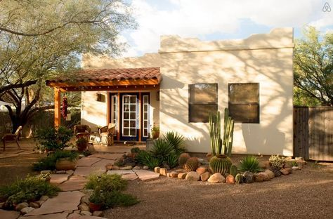 "This cute ""casita"" is an eclectic southwestern neighborhood that dates back to the 1940s."