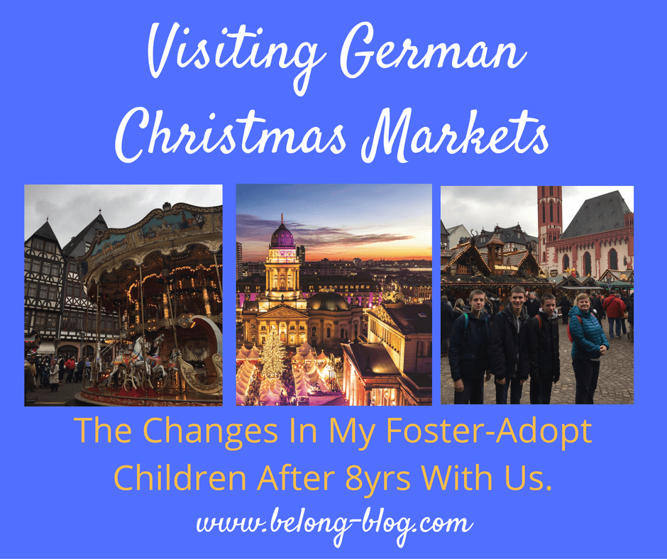 A German Christmas Market As A Foster-Adopt Family - How Children ...