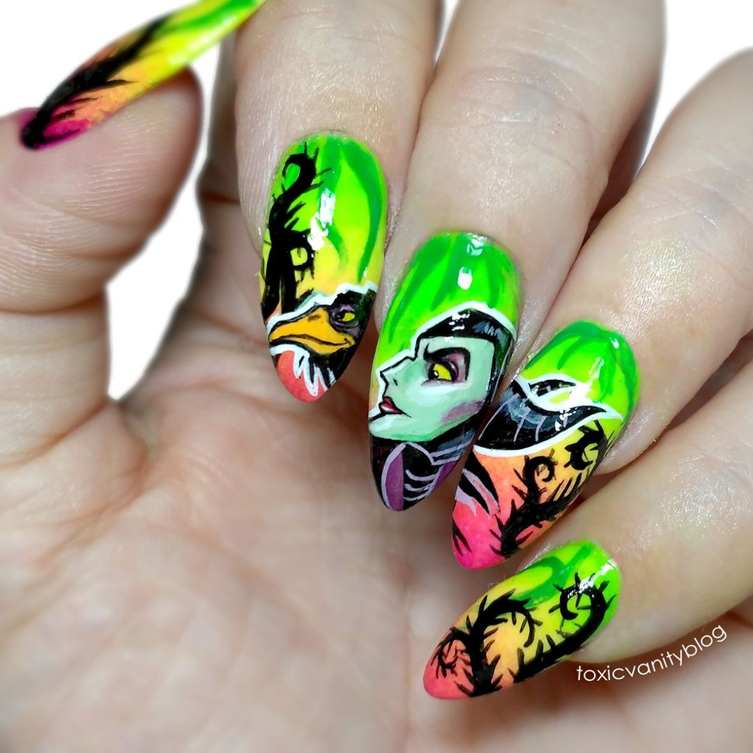 Maleficent Nails By Toxicvanityblog Unghii In 2019