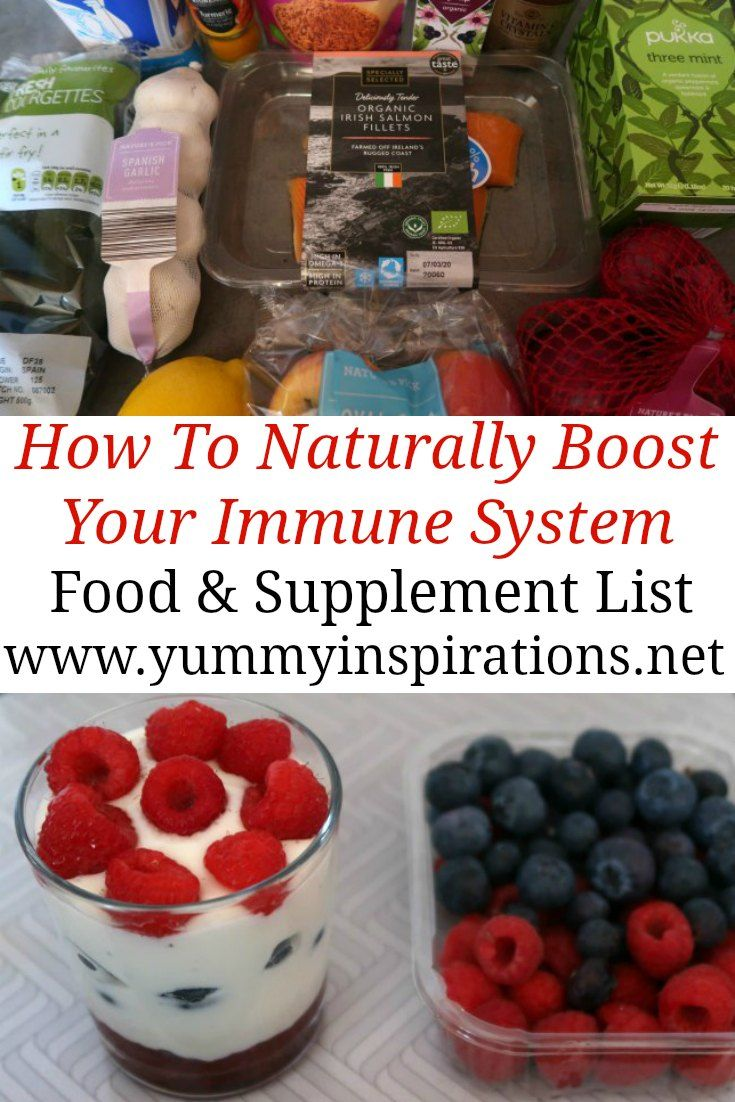 Boost Your Immune System Naturally How to use boosting