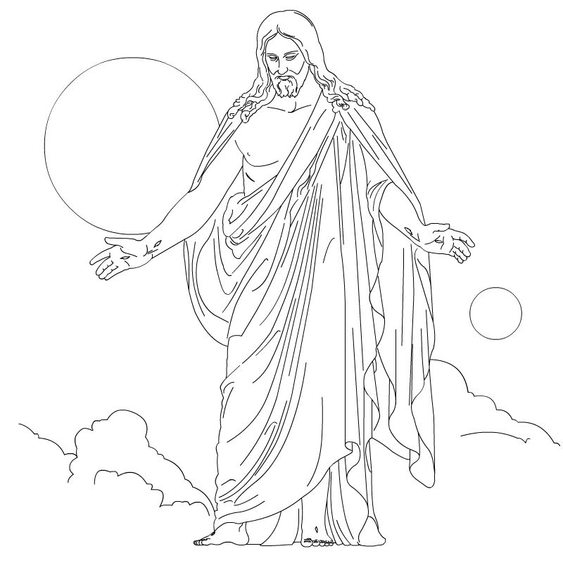Free Printable Jesus Coloring Pages For Kids Jesus Coloring Pages Lds Coloring Pages Coloring Pages