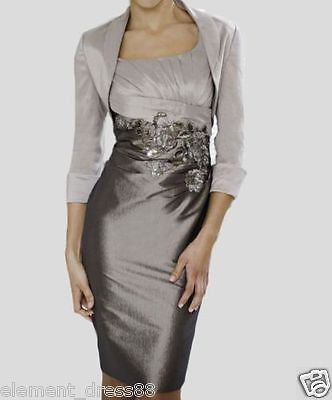 #Grace taffeta mother of the #bride outfits wedding #guest dress with free jacket,  View more on the LINK: http://www.zeppy.io/product/gb/2/172066944411/