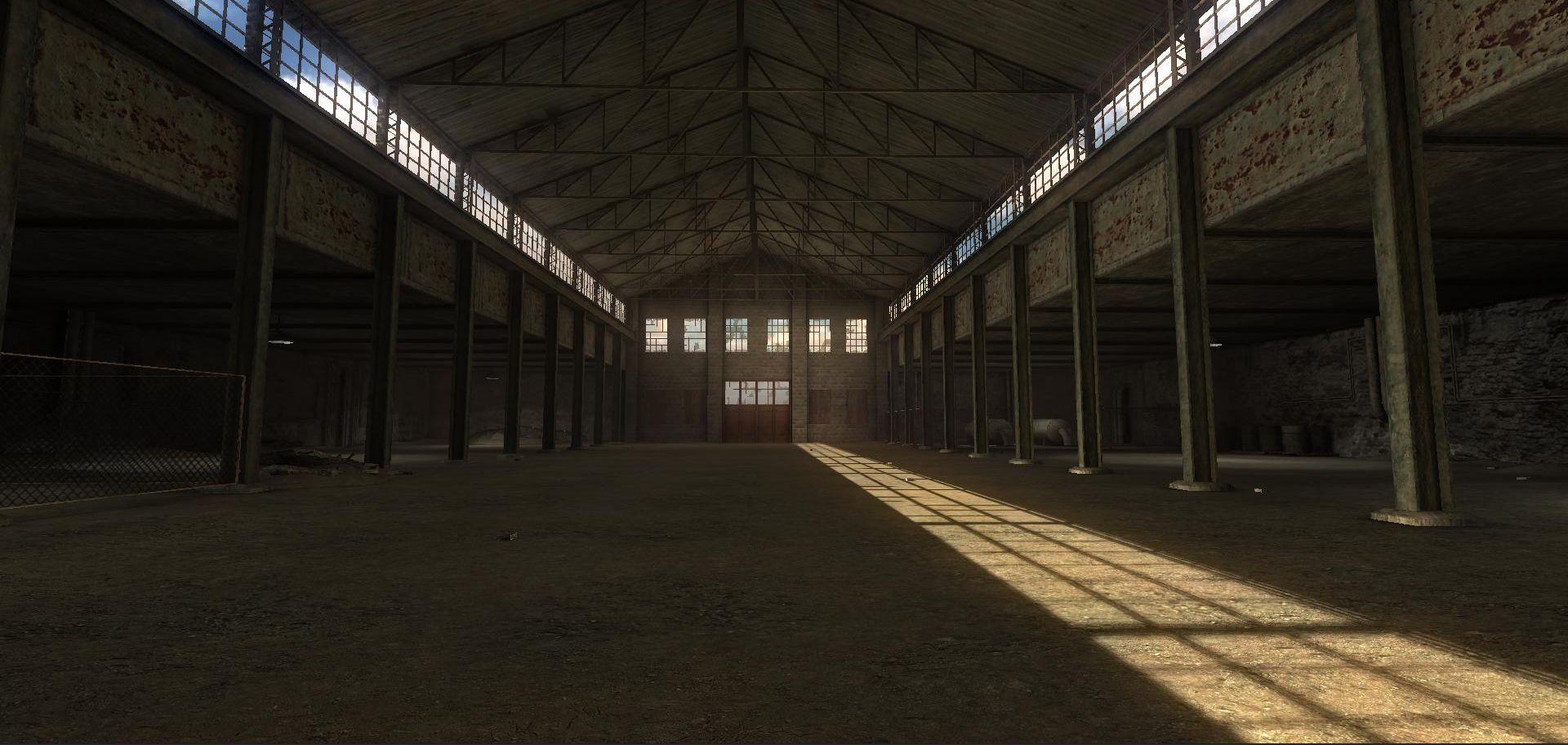 Old Warehouse Interior