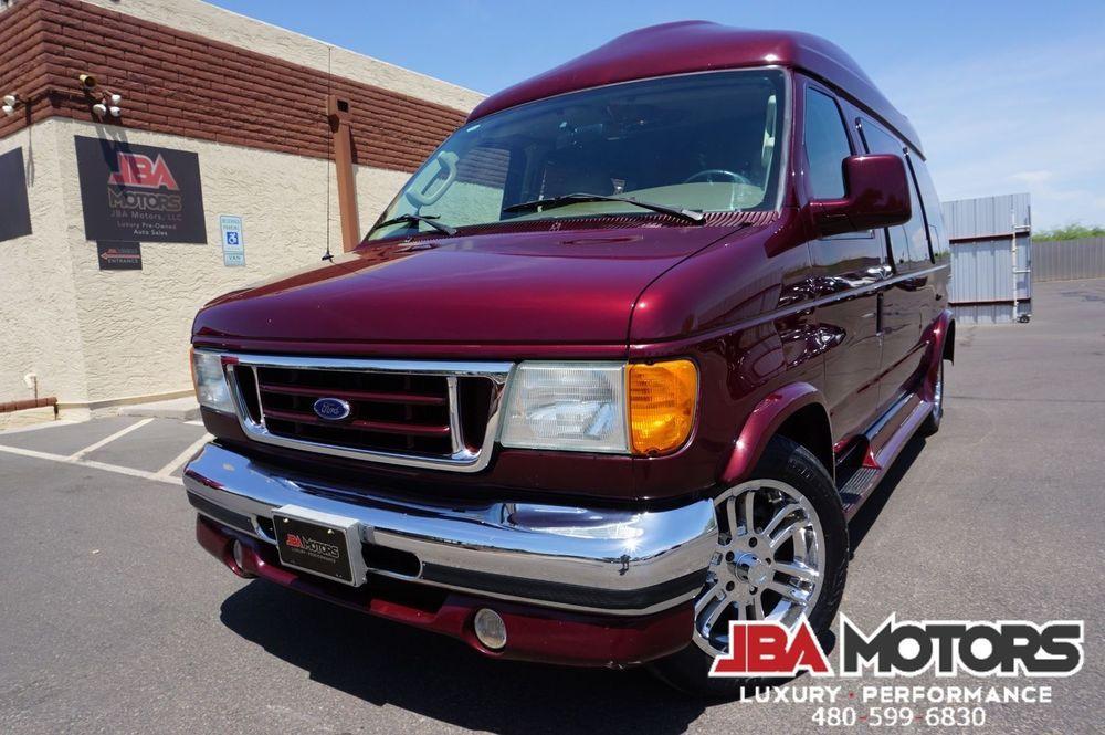 Ford Econoline Cargo Van Recreational E 150 Sherrod High Top