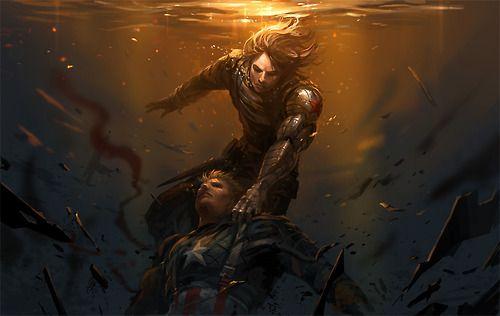 Captain America And The Winter Soldier Fanart Http://sandara.deviantart.com