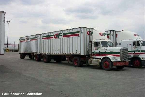 Pin By David Cox On Consolidated Freightways ( CF