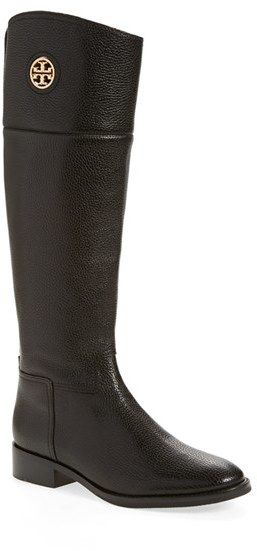 61c1f878cdeb TORY BURCH  JUNCTION  RIDING BOOT (WOMEN) (WIDE CALF)  495 by Tory ...