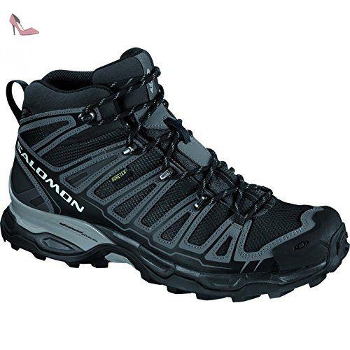 Salomon - Chaussures Randonnee X Ultra Mid Gtx Homme Salomon - 11.5 - Noir  - Chaussures