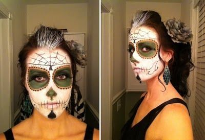 day of the dead halloween costumes - Google Search   Makeup ...