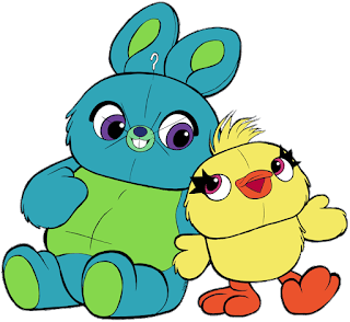 Bunny Y Ducky De Toy Story 4 Para Imprimir Toy Story Characters Character Drawing Disney Character Drawings