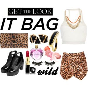 Get The Wild Look with Leopard It Bag #fashionstyle #polyvore