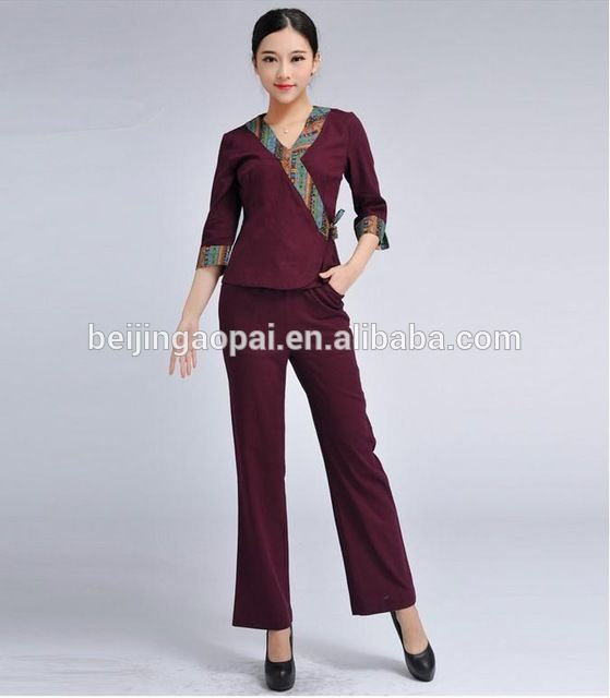 Source Fashion Design Whole Price Spa Beauty Salon Uniform For Nail On M Alibaba