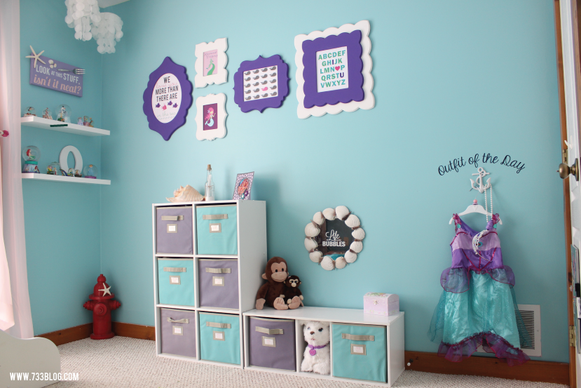 Cricut Design Space Star 733 Blog Kids Room Wall Mermaid Room
