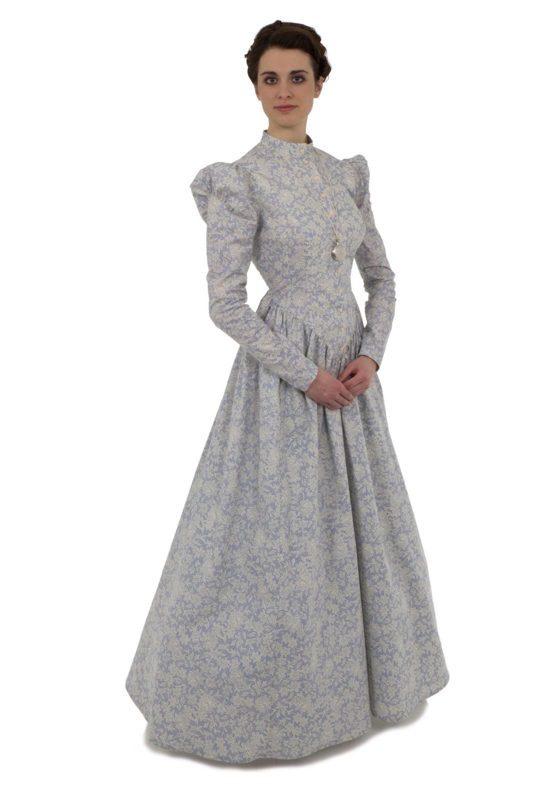 Old Fashioned English Empire Dress
