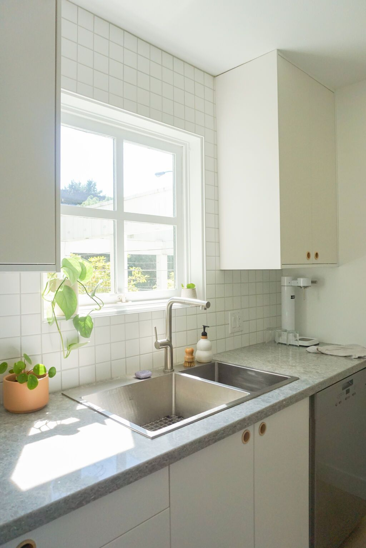 Alison Mazurek: Galley Kitchen Backsplash Reno