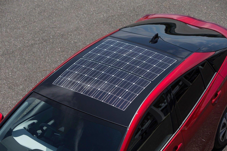 Now That S A Sunroof Toyota Prius Prime Features Panasonic Built Solar Panels Solarpanelkits Toyota Prius Prime Toyota Prius Solar Energy Panels