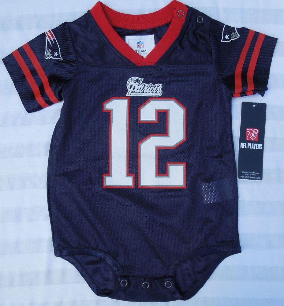 tom brady infant jersey onesie