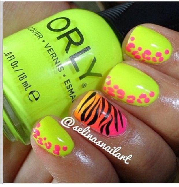 orlynails #nailideas #naildesign #brightneona #simplenails #nailart ...