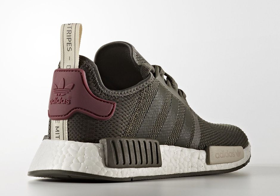 f867feb451bad adidas NMD R1 Olive Maroon