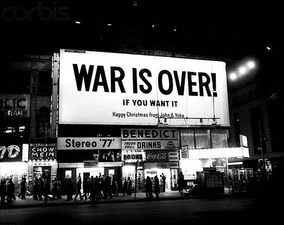 John Lennon Happy Xmas War Is Over New Lyrics War John Lennon