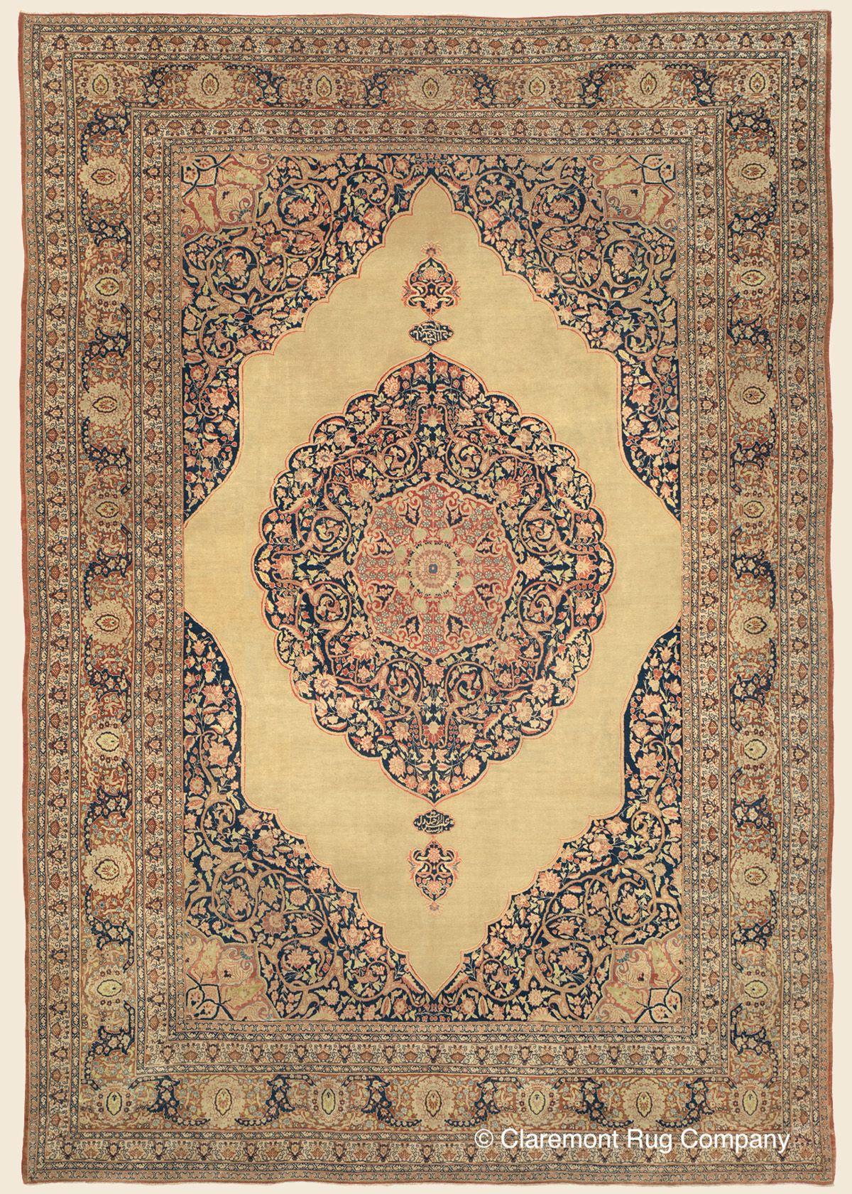 Tabriz Northwest Persian Antique Rug 9 1 X 13 3 Circa 1900 Claremont Rug Company Rugs Persian Rug Designs Rugs On Carpet
