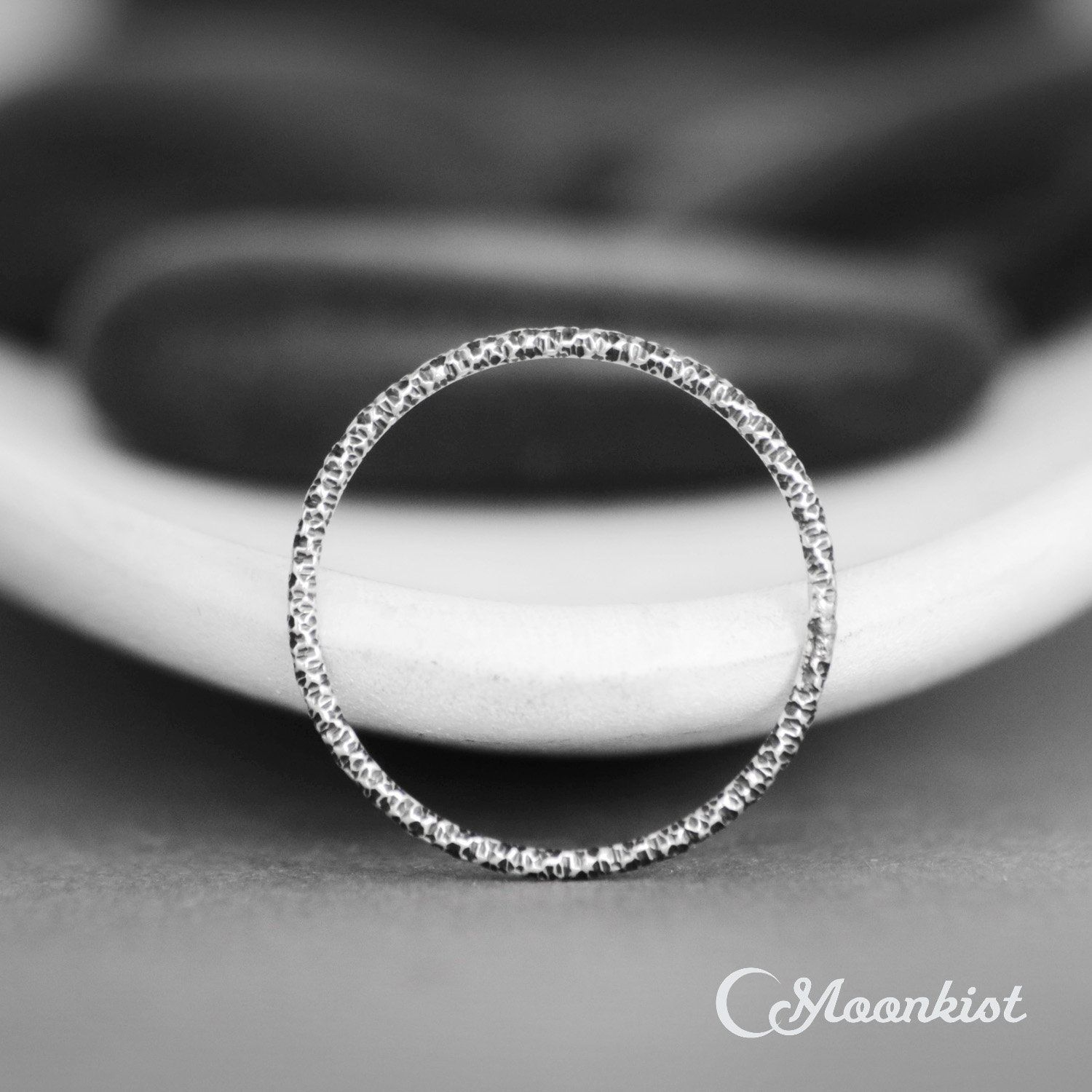 Thin Wedding Band Womans Sterling Silver Band Simple Wedding Etsy Textured Wedding Band Thin Wedding Bands Sterling Silver Bands