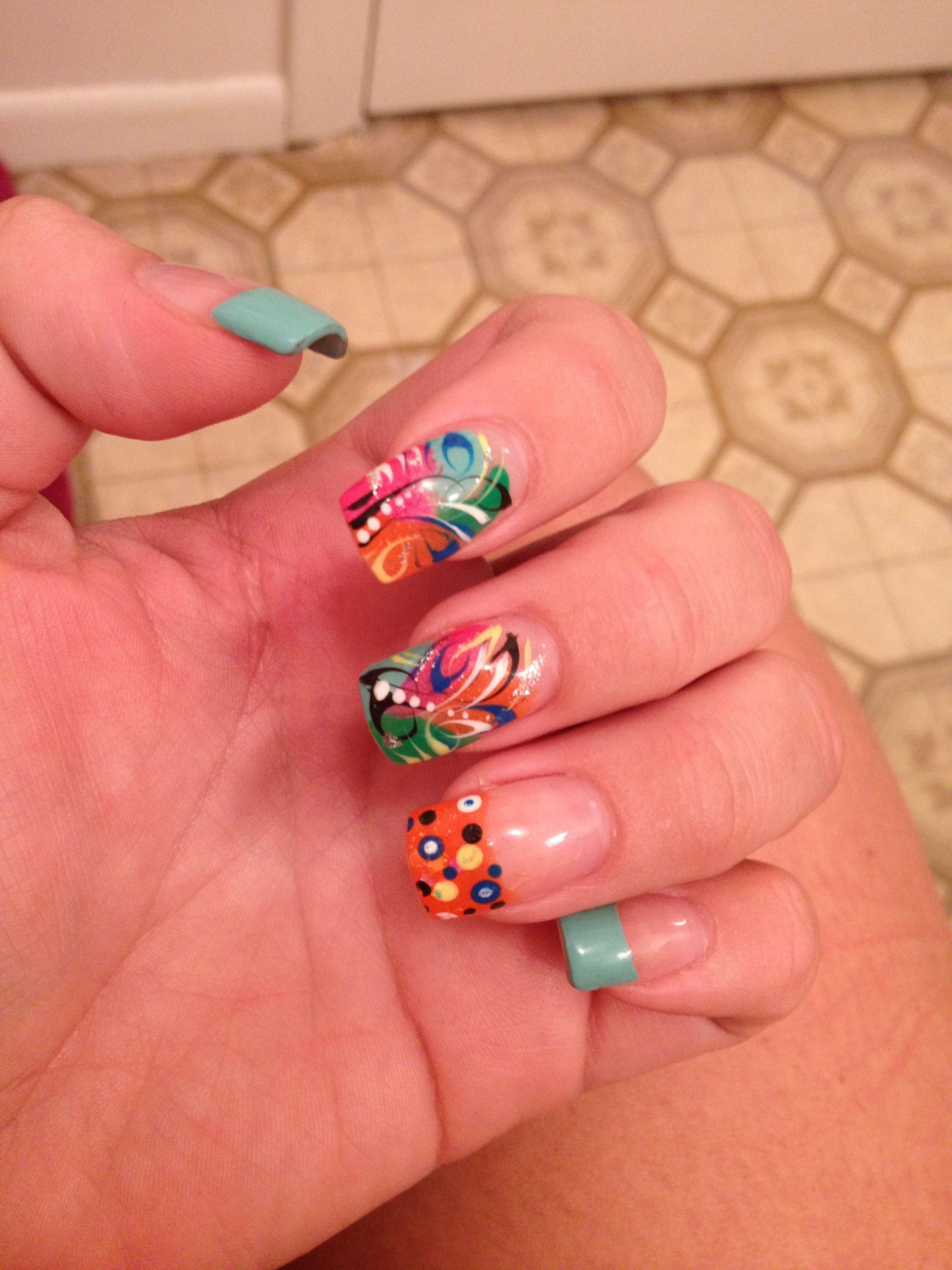 My new nail design! | Nails | Pinterest | Nail nail and Hair coloring